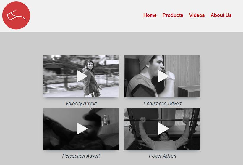 Video page at medium width