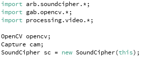 SoundCipher added to the growing list of imports.